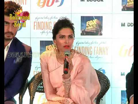 Deepika Padukone & Arjun Kapoor at PC of Goa Tourism for 'Finding Fanny' Part 3