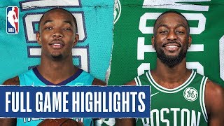HORNETS at CELTICS | FULL GAME HIGHLIGHTS | December 22, 2019