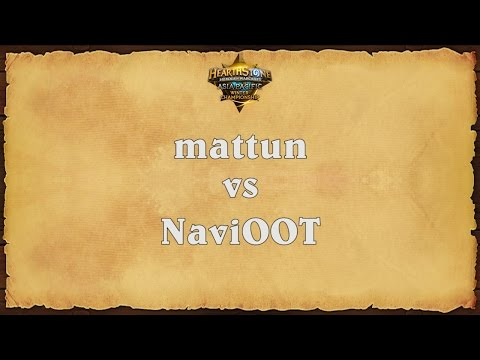 mattun vs NaviOOT - Asia Pacific Winter Championship - Match 3