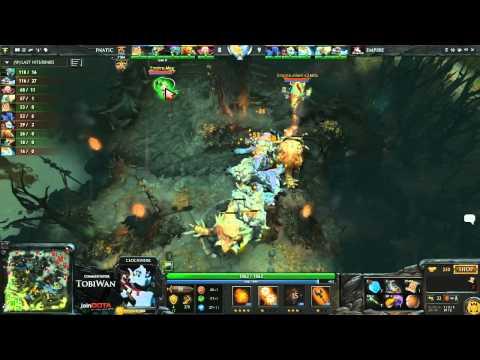 Fnatic EU vs Team Empire - StarLadder VII DOTA 2 - TobiWan