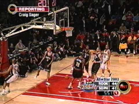 Drew Gooden's Rookie Game Windmill (2003)