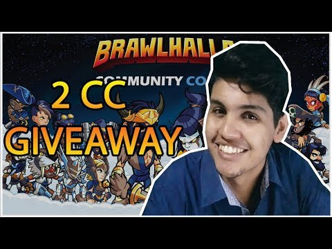 BRAWLHALLA - SORTEIO DE 2 COMMUNITY COLORS - 2 CC GIVEAWAY