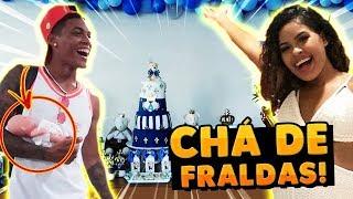 CHÁ DE FRALDAS DO NOSSO BEBÊ!!