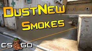 New Dust2 Smokes Flashes Molotovs