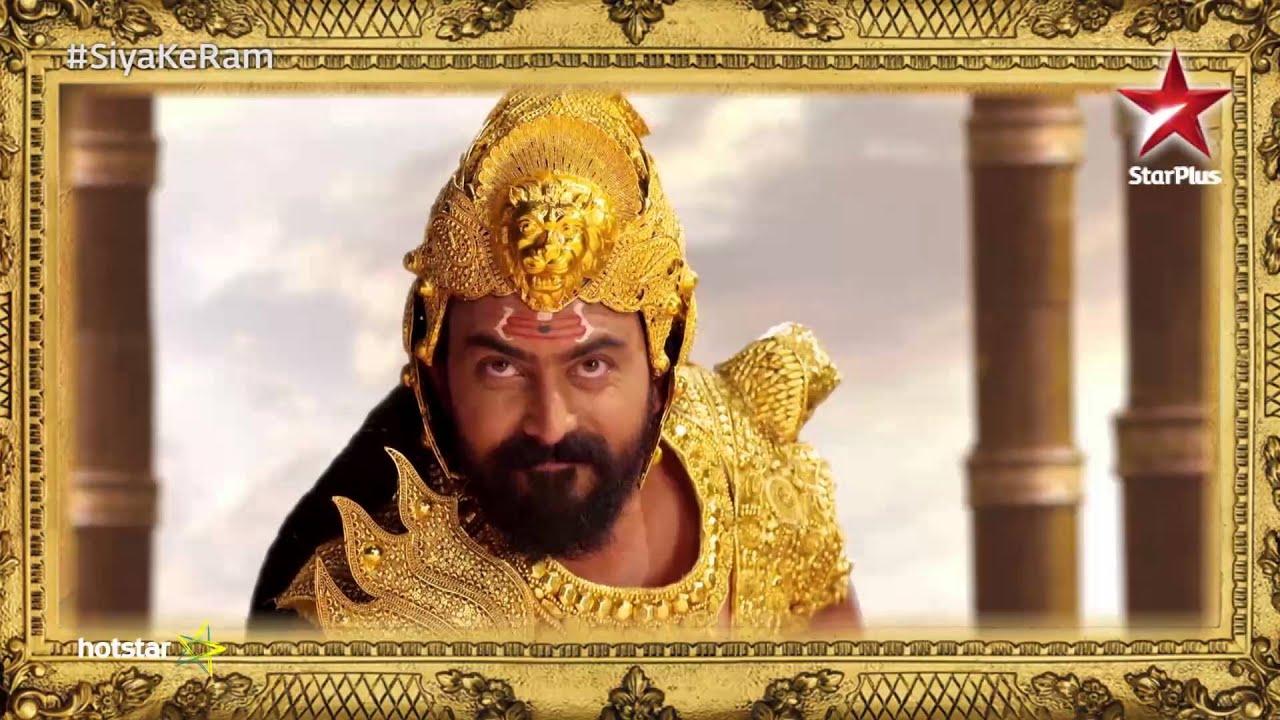 Siya Ke Ram: Raavan's character