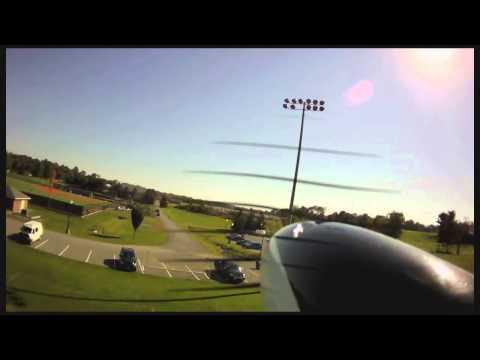 Stupid Parkzone Radian Glider Tricks