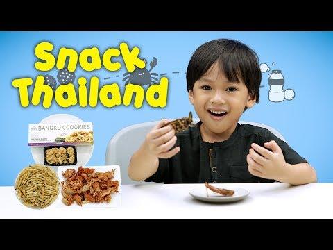 KATA BOCAH tentang Snack Thailand (Ulat Bambu, Kepiting Crispy, Gummy Yogurt) | #38