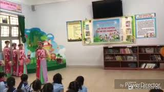 Kể chuyện về Bác Hồ kính yêu đạt giải nhất của lớp 4/3