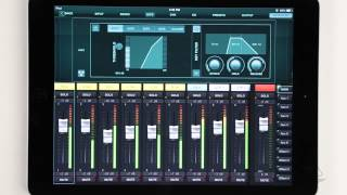 X AIR How To: Channel Strip Processing (iPad)