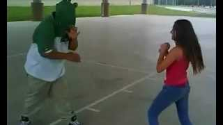 Jennifer kicking ass in Shepard
