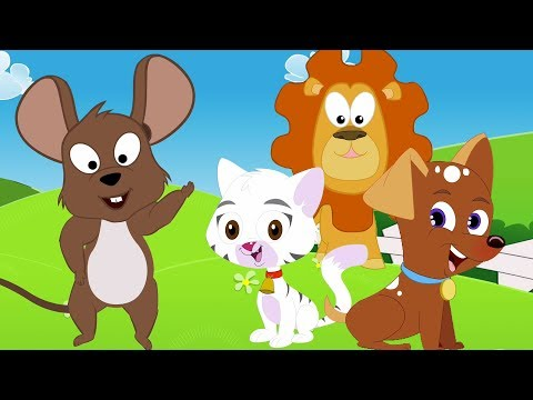 Tier klingt Lied | Lerne tiere | Kinder Reime | Educational Video | Animal Sound Song | Animal Names