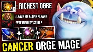 INFINITY STUN Scepter Carry Ogre Magi Octarine Core | WTF Multicast Items New 7.20e 25Kills Dota 2