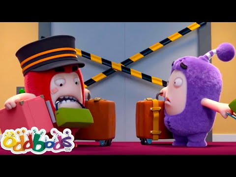 Oddbods - HOTEL HASSLE | Oddbods Full Episodes | Funny Cartoons | Oddbods & Friends