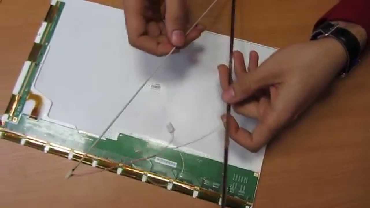 Ремонт матрицы на ноутбуке своими руками 457