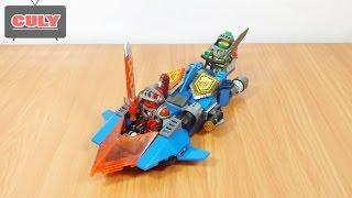 2 bộ hiệp sĩ Lego Nexo Knight lái phi thuyền chiến đấu đồ chơi trẻ em brick toy for kids