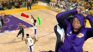 Buzzer Beater Fadeaway Three Point Green Release! Lakers vs Spurs