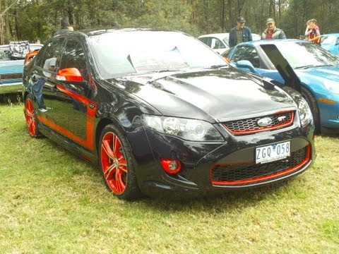 GT 2012 the fastest FPV  FORD ...falcon GT ever produced..
