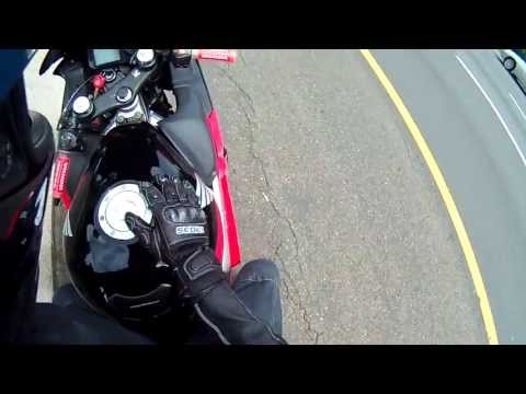 75 MPH Motorcycle Crash Helmet Cam