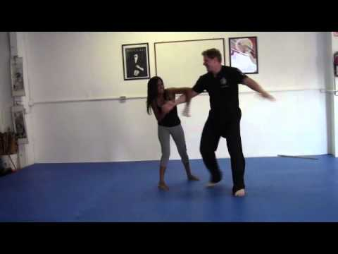 Girl Fight Self Defense And Training Techniques Image 1