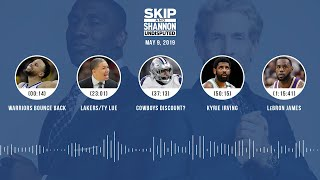 UNDISPUTED Audio Podcast (05.09.19) with Skip Bayless, Shannon Sharpe & Jenny Taft | UNDISPUTED