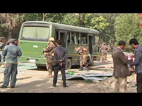 Afghanistan : 8 officiers tués dans un attentat à Kaboul