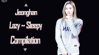 SEVENTEEN Jeonghan Lazy/Sleepy moments Compilation