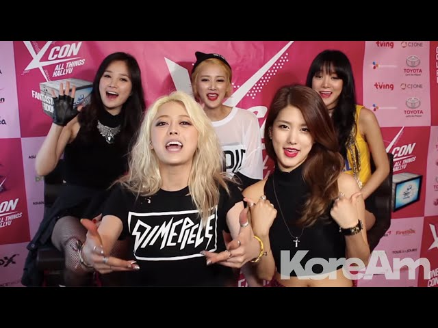 KoreAm Interview: SPICA at KCON 2014