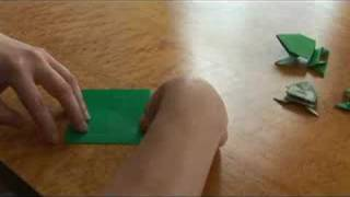 Advanced Origami Folding Instructions : An Origami Jumping Frog Body