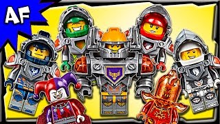 Lego Nexo Knights Minifigures 2016 Complete Collection Review