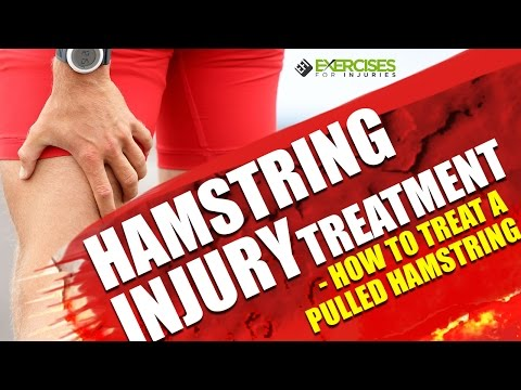 Hamstring Injury Treatment - How to Treat a Pulled Hamstring