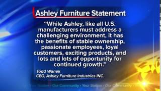 Ashley Furniture 'to continue our current path'