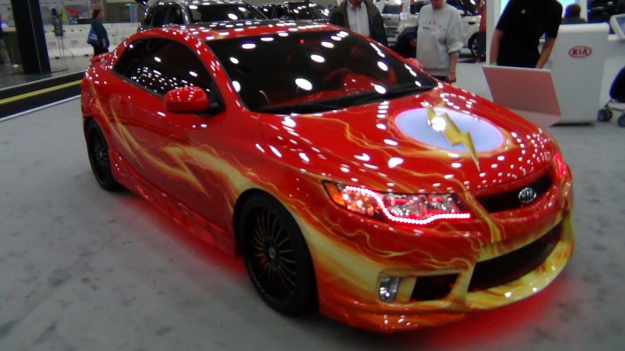 Flash The Justice League Car Kia Forte Youtube