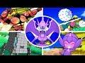 Pokémon Ultra Sun / Moon - All Ultra Beasts + Signature Moves