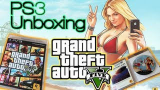 Grand Theft Auto V (5) :: UNBOXING ::  Playstation 3 (PS3) Game