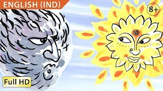 The Wind and the Sun: Learn English (UK) with subtitles - Story for Children