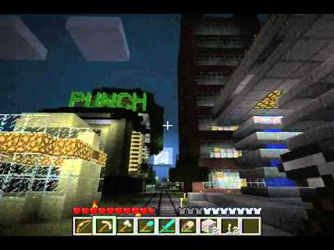 Minecraft Punch Trees Online Server Tour