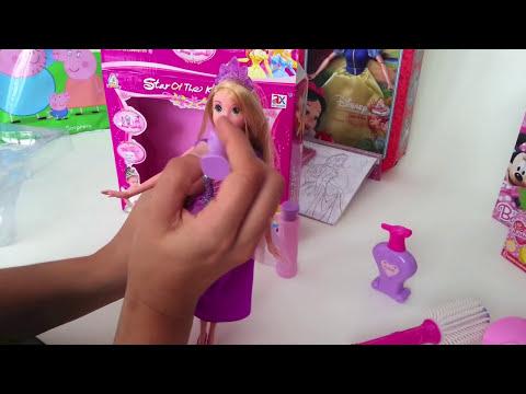 Kit de Peluquería de Princesas | Peinamos a la princesa Rapunzel