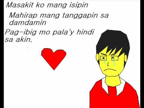 Kung Ako Ba Siya - Khalil Ramos Lyrics video