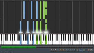 Mass Effect 3 - An End Once and For All - Piano Tutorial (100%) Synthesia + Sheet Music & MIDI