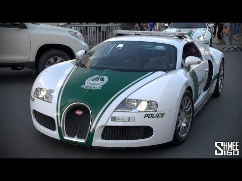 Bugatti Veyron Joins the Dubai Police Supercar Fleet