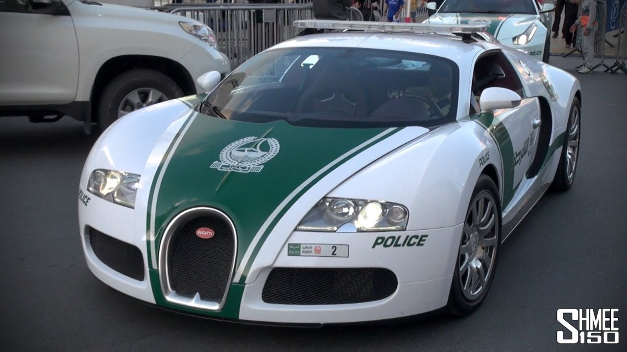 bugatti veyron joins the dubai police supercar fleet youtube. Black Bedroom Furniture Sets. Home Design Ideas