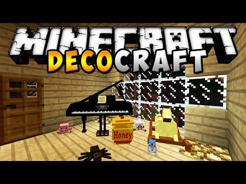 Minecraft - DECOCRAFT MOD (Pianos, columpios, juguetes, etc!) - ESPAÑOL TUTORIAL