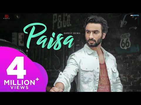PAISA : Hardeep Grewal (Official Video) Proof | New Punjabi Song | Latest Punjabi Songs