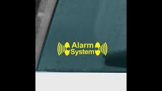 Alarma original BMW E46 instalada fuera de fábrica