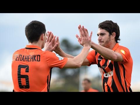 Shakhtar 3-0 Olhanense. Highlights (1/02/2017)