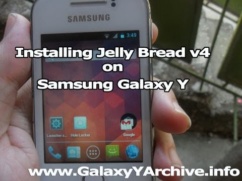 How to install Jelly Bread v4 ROM on Galaxy Y + Quick Review