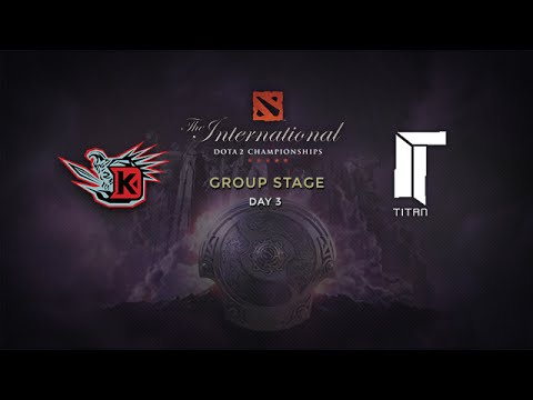 DK -vs- Titan, The International 4, Group Stage, Day 3