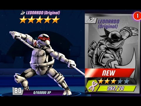 Ninja Turtles Legends Leonardo original First Look