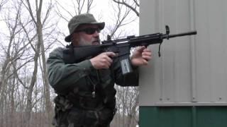 M4 SPR CARBINE AK-74 AIRSOFT WAR GAMES MINNESOTA