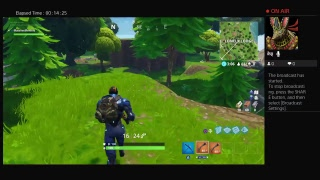 Fortnite Battle Royale Gameplay Victory Royale Stream #44